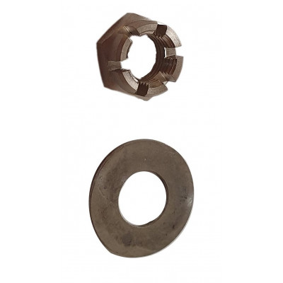 Crown nut for gearbox