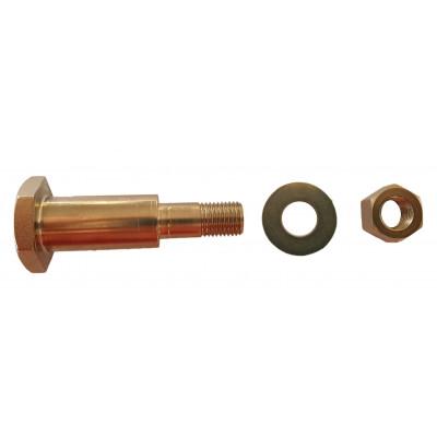 Brake pedal pin