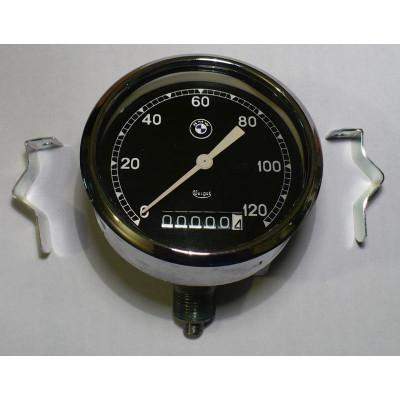 Tachometr Veigel 45° BMW, 120 km/h