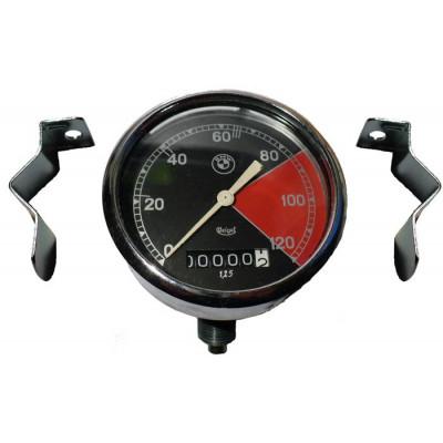 Tachometr Veigel 45° 120 km/h
